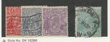 Australia, Postage Stamp, #71-72, 74, 76 Used, 1929-30