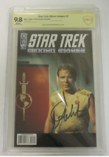 CBCS Graded 9.8 NM, IDW Mirror Images #2, 2008 Photo Cvr, Signed William Shatner