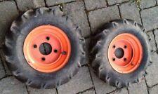 2 X Räder (Felgen + Reifen ) 3.5-8 Zoll für AgriaEinachser 2400 3400