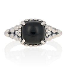 anello donna pandora pietra nera