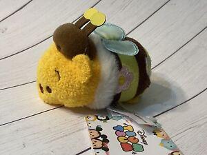 "Disney Store Tsum Stack Mini Plush 3.5"" JAPAN 2016 Honey Bee Pooh 💕 US SELLER"