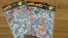 24 Halloween Loot Bags. In 3 Packs Of 8. 23x7cm. Scary pumpkin, skeleton design