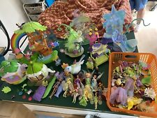 Huge Lot Of 2006 Disney Playmates Fairies Good Condition Buildings & Accessories