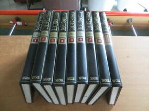 La Bécane - Encyclopédie de la moto en 9 volumes par Atlas - 1980