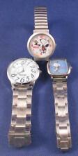 (3) SNOOPY Character Men & Women QUARTZ Wristwatch Lot