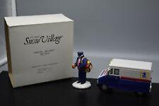 "Dept 56 ""Special Delivery"" Snow Village Set of 2,#51489, Original Box- Preowned"