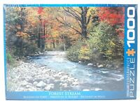 1000 Piece Jigsaw Eurographics Puzzle - Forest Stream - EG60002132 - New
