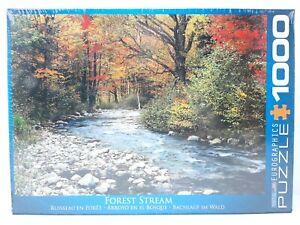 1000 Piece Jigsaw Eurographics Puzzle - Forest Stream - EG60002132 - New