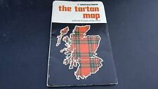 Older Scottish Bartholomew The Tartan Map Color Fun Fold Out