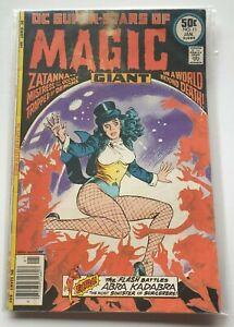 DC Super-Stars of Magic # 11 - 1977 - Zatanna - Wein & Morrow