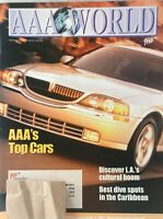 Vintage AAA World Magazine (2000) Cars, Trucks Travel, Vacation, Automobile
