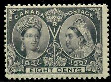 CANADA #56, 8¢ Jubliee, fresh og, NH, F/VF, Scott $325.00