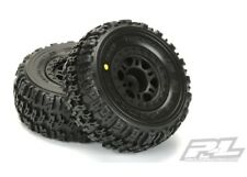 NEW Pro-Line Traxxas Slash Rear Trencher X SC M2 Mounted Tire / Wheel Set (2)...