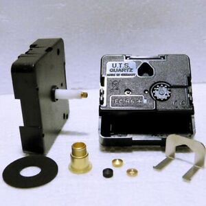 New Replacement UTS Quartz German Euroshaft Clock movement mechanism 20mm shaft