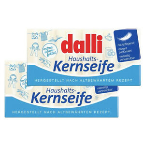 Kernseife Seifenstück für Haushalt und Körperpflege Dalli 2x 300g Sparpack