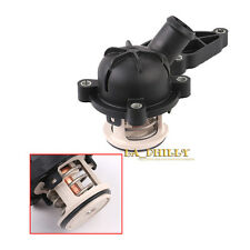 New Engine Coolant Thermostat w Housing 88c For Audi A4 A6 Quattro 2.4 3.2L V6