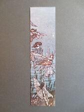 Vintage BOOKMARK Elgin Court ARTHUR RACKHAM Fairies of the Serpentine Peter Pan