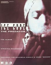 ICE CUBE 1992 PROMO ADVERT THE PREDATOR priority records