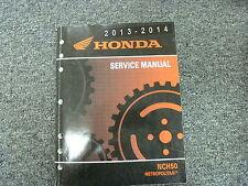2013 & 2014 Honda NCH50 Metropolitan Motor Scooter Shop Service Repair Manual