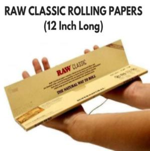 RAW 12 INCH HUGE PAPERS Supernatural Smoking Ciggarette Skins Rizla Herb Rolling