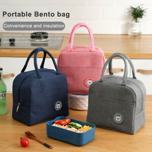 Adult Lunch Bag Insulated Cool Thermal Work School Picnic Handbag Lunch Box;