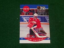 c36ec253960 jim hrivnak (washington capitals-goalie) 1990 91 pro set rookie card