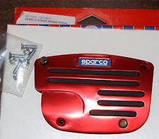 SPARCO SP37864 STRIPE BRAKE PEDAL RED BLACK NEW NOS RARE!