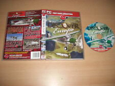 DISCOVER EUROPE Pc Cd Add-On Microsoft Flight Simulator Sim 2004 & X FS2004  FSX