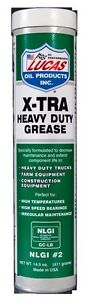 Lucas Xtra Heavy Duty Grease 411g Cartridge Wheel Bearings Water Resist Marine