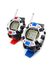 TWO WAY RADIO KIDS WALKIE TALKIE WRISTLINX 2 WRIST WATCH TOY SPY 007 GADGETS