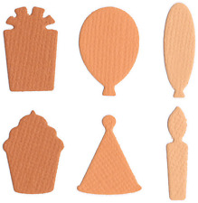 QuicKutz Lifestyle Crafts Mini Cutting Die Set CELEBRATION SHAPES  ~CC-SHAPE-03