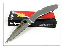 SPYDERCO POLICE Stainless Serrated SC7S Couteau Spyderco VG-10 Japan