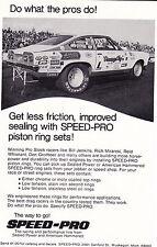 "1972 CHEVROLET VEGA - PRO STOCK - BILL ""GRUMPY"" JENKINS ~ ORIGINAL SPEED PRO AD"