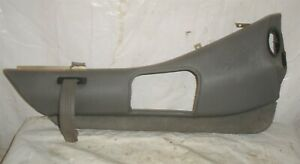 1982 Delorean DMC 12 OEM Left Door Lower Panel Armrest