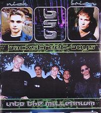 BACKSTREET BOYS 1999 MILLENIUM PROMO POSTER