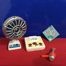 Re-Ment Dollhouse Miniature Old Fashion Fan Dryer and Scale 2006