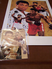 MUHAMMAD ALI & ARTIST DANNY DAY SIGNED AUTOGRAPH LITHOGRAPH CERTIFIED LT 171/200