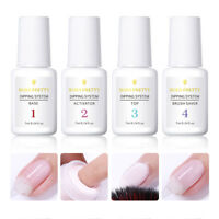 BORN PRETTY Dipping Powder System Dip Liquid 4 Steps Basic Nail Gel No UV Needed