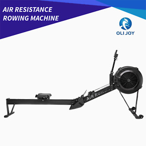 Air Resistant Rowing Machine Fitness Cardio Workout Gym Home Premium
