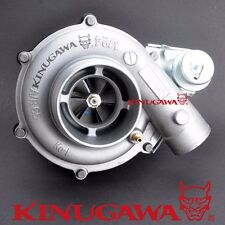 """Kinugawa 4"""" Turbocharger GT3582 with A/R 1.17 Twin Entry Divided T4 Housing 600P"""