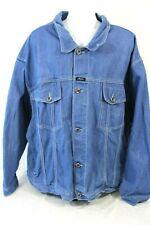 Karl Kani Jeans Hip Hop (5) Button Vintage Jean Jacket Coat Size 5X EUC
