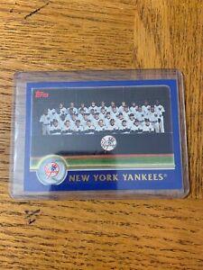 Topps 649 New York Yankees Tarjeta