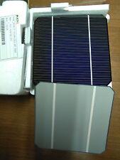 """100 pcs mono cellula solare fotovoltaico 5""""x5"""" monocristallino cella"""