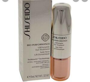 Shiseido Bio Performance LiftDynamic Eye Treatment .52 oz / 15 ml - New In Box