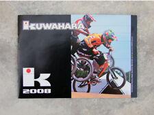 Collectable 2008 Kuwahara Bikes Freestyle & BMX bicycle, product catalog