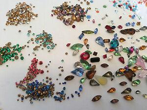 Vintage Rhinestones jewellery jewelery repair Foiled Brooch Craft 525 VALUE PACK