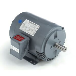 Leeson 5 HP General Purpose Motor, 3 phase, 3600 RPM, 230/460 V, 182T, 199689.00