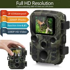 Mini Wildkamera Überwachungskamera 20MP 1080P Fotofalle Nachtsicht Jagdkamera