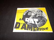 charles aznavour LE RAT D' AMERIQUE  rare scenario  presse cinema 1963