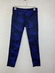 Old Navy Active High Rise Blue Leggings Women's Size XL Regular Striped